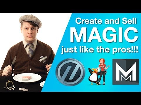 How to Create and Sell Magic Products Like a Pro!