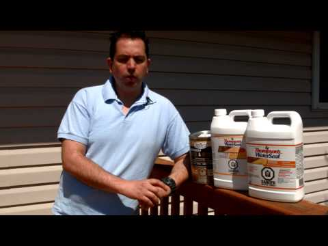 Thompson's WaterSeal Deck & House Stain - Art's Testimonial