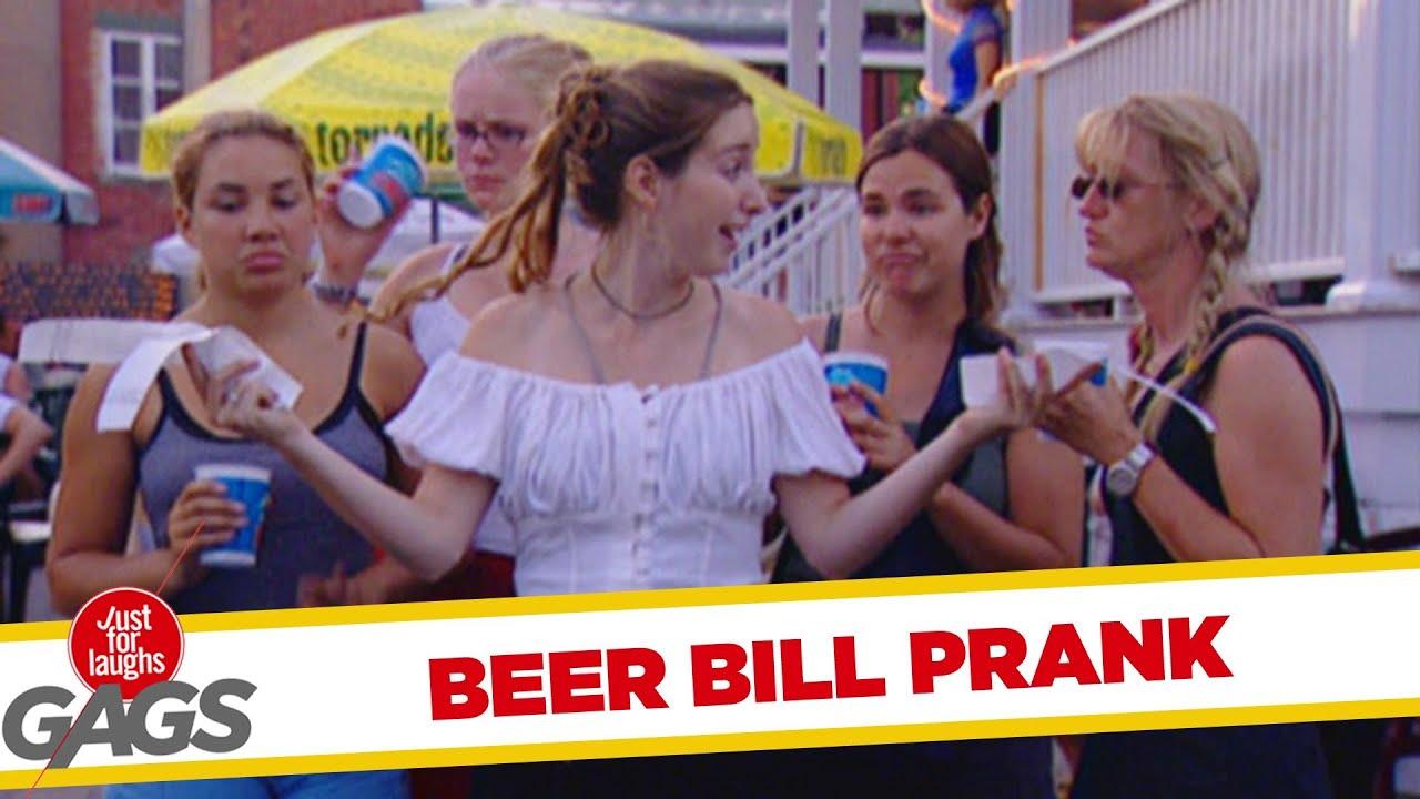 Beer Bill Prank