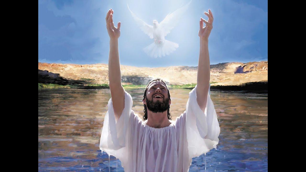 Jesucristo:Recuerdo de su Bautismo en el río Jordán - YouTube