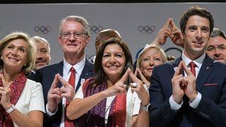 Ambiance festive à Lima pour célébrer l'annonce de Paris 2024