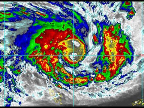 Cyclone Pam rapidly intensifies - Update 1 (02:30 UTC, 10/03/2015)