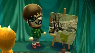 I accidentally bought fake artwork in Animal Crossing...