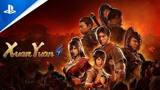 Xuan Yuan Sword 7 - Gameplay Trailer #3   PS4