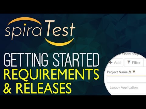 Getting Started With SpiraTest (Part 1):  Requirements And Releases