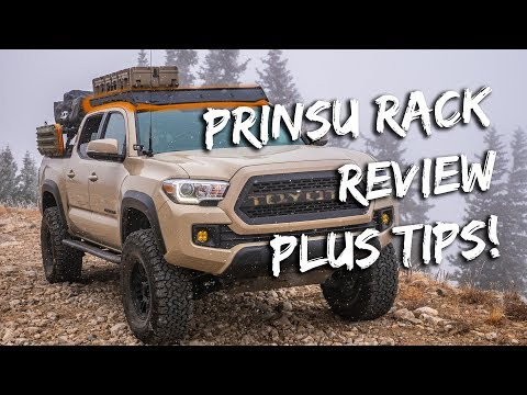 Tacoma Prinsu Roof Rack Review / Tips And Tricks