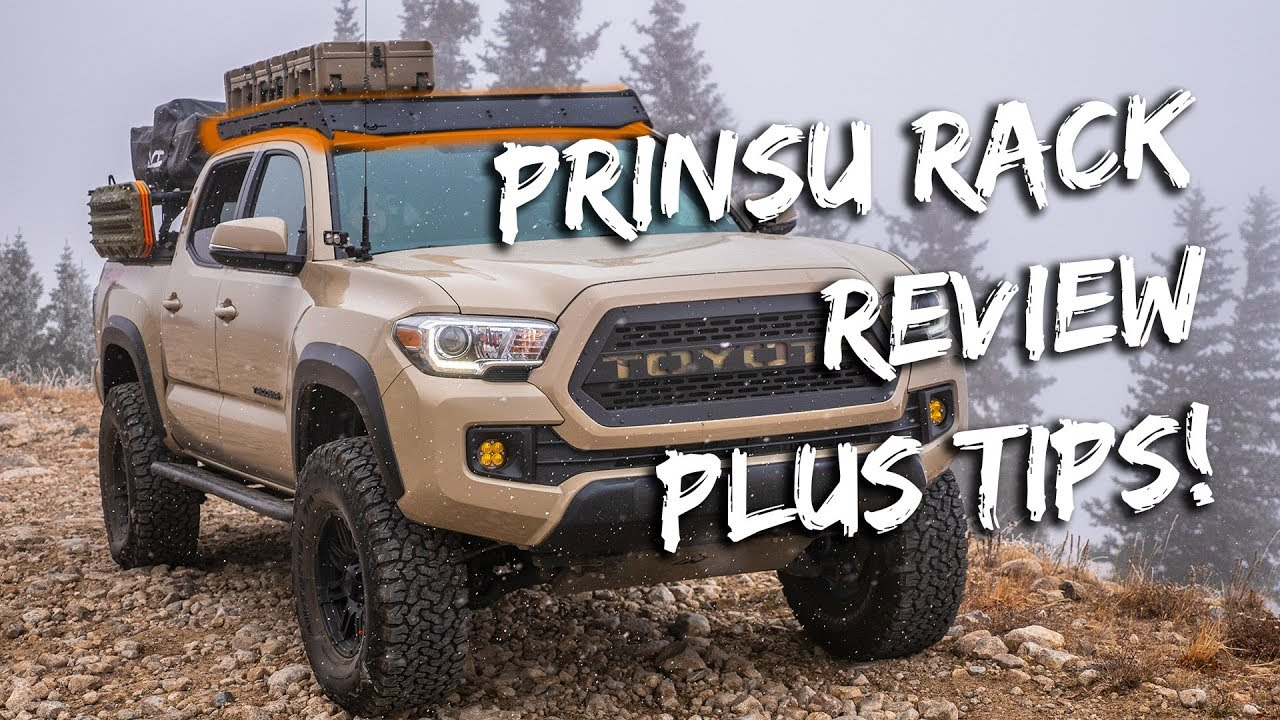 Tacoma Prinsu Roof Rack Tips And Tricks Youtube