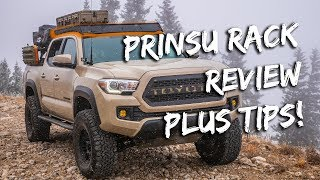 Tacoma Prinsu Roof Rack Tips and Tricks