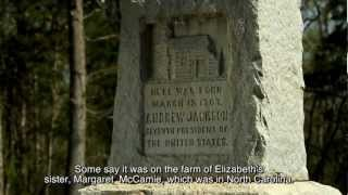 Where was Andrew Jackson born?