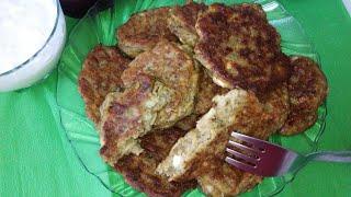Котлеты из баклажанов/Patlıcan mücveri/Турецкая кухня