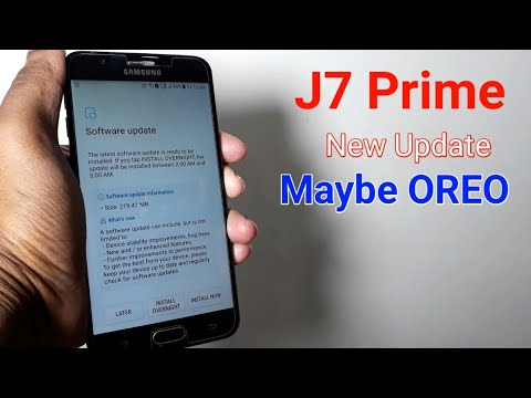Samsung Galaxy J7 Prime New Update Maybe Oreo Update Youtube
