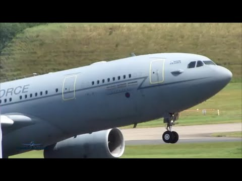 30+ Minutes Plane Spotting at Birmingham Airport in HIGH WINDS