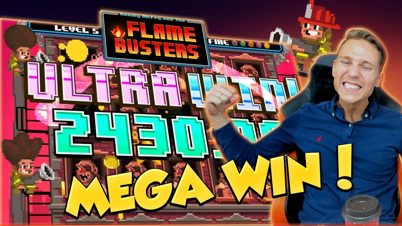 BIG WIN!!! Flame Busters Huge Win - Casino Games - free spins (Online Casino)