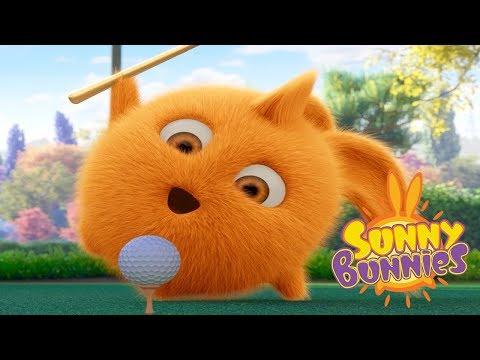 Sunny Bunnies - PLAY CRAZY GOLF | Cartoons For Children | Funny Cartoons For Children