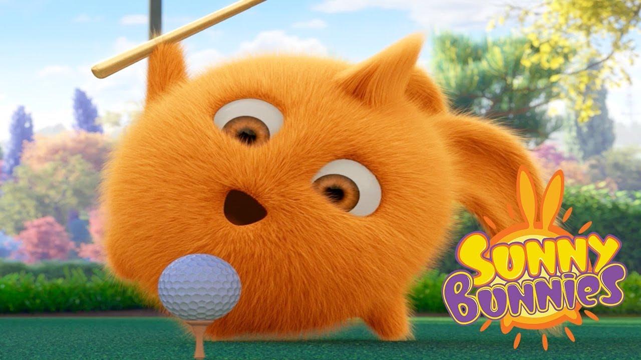 Sunny Bunnies Play Crazy Golf Cartoons For Children Funny