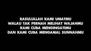 Rasulullah Lyric Video - Iman Farrar Cover