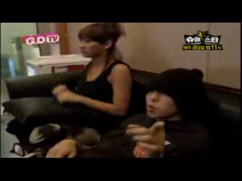 G-Dragon feat Teddy & CL -The Leaders (On The Studio)