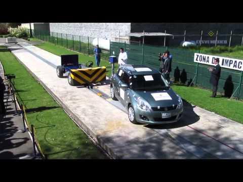 Low-Speed Crash Test 2013 Suzuki Swift