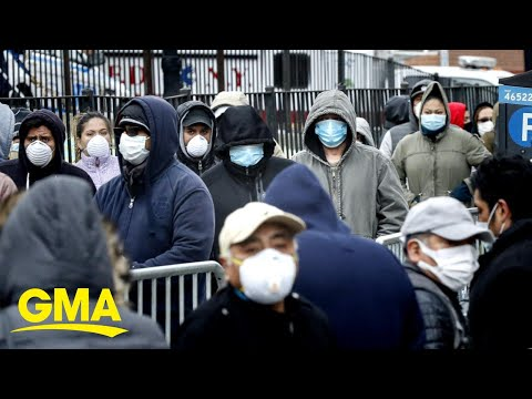 New York becomes center of crisis as virus spread continues l GMA