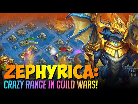 Zephyrica Guild Wars Crazy Range Big Damage Castle Clash