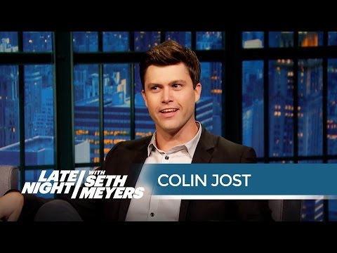 Thumbnail: Colin Jost Was a Child Debater - Late Night with Seth Meyers