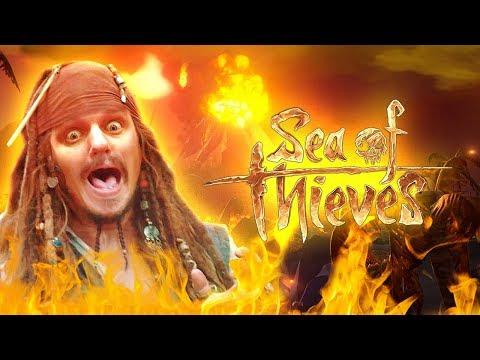 HWSQ #252 - Hilfe, wir werden LEBENDIG gekocht! ● Let's Play SEA OF THIEVES