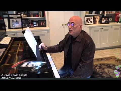 Mike Garson's David Bowie Tribute Live on Periscope - January 30, 2016