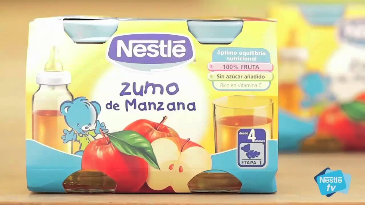 Ejemplo De Menú Para Bebé De 4 Meses Nestlé Y La Alimentación De Tu Bebé Youtube