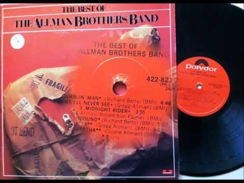 Ramblin Man , The Allman Brothers , 1973 Vinyl