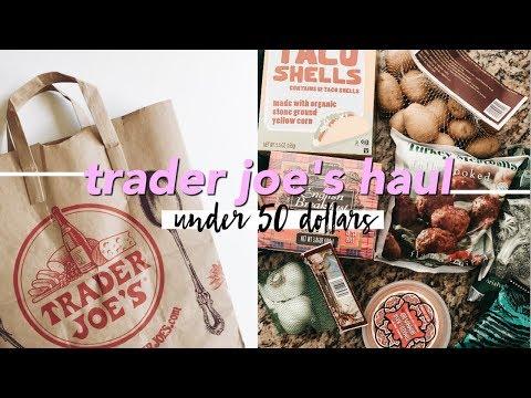 Trader Joe's Haul (under $50)