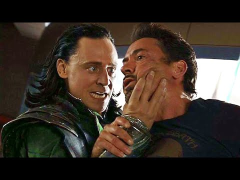 "Iron Man vs Loki - ""We have a Hulk"" - Suit Up Scene 