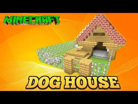 Minecraft Tutorial Dog House Tu33 Youtube