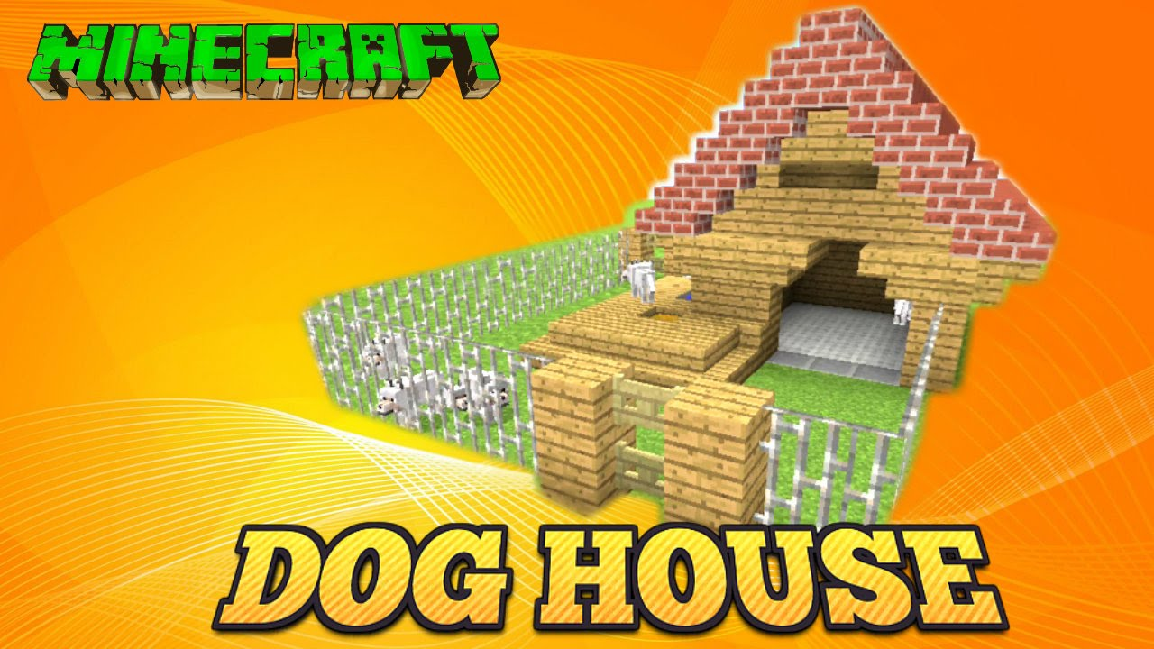 Minecraft Dog House Tutorial