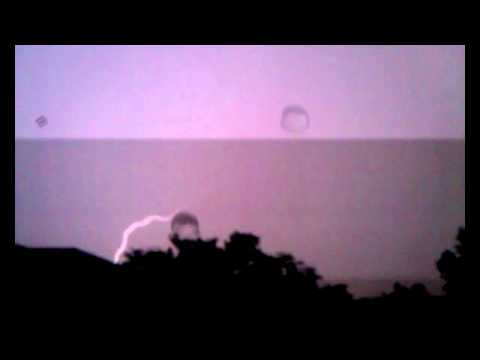 West Jordan Utah Thunder & Lightning Storm 8/28/11