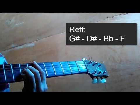 Kunci Gitar Shes Gone Mudah