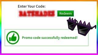 NUOVO segreto Roblox Promo Code! -Spiky Creepy Sfumature