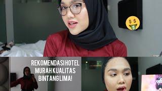Makeup Traveling Anti Luntur Pake Produk Lokal + Drugstore (mini vlog)