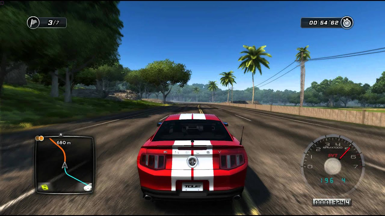 Test Drive Unlimited 2 Ford Mustang Shelby Gt500 Youtube