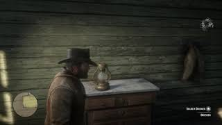 Red Dead Redemption II Arthur Getting Debts from a Polish Guy