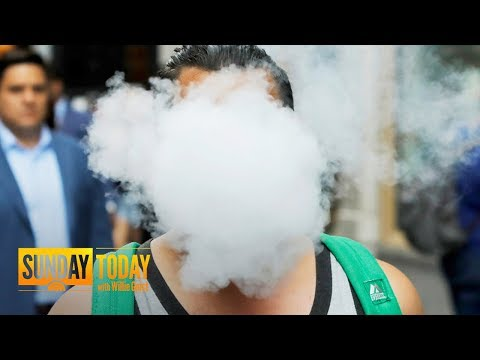 Vaping 'Epidemic': Inside The Rise And Future Of E-Cigarettes | Sunday TODAY
