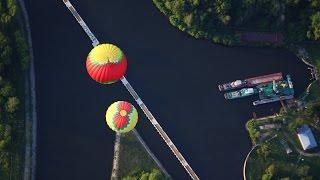 видео Полет на воздушном шаре Москва