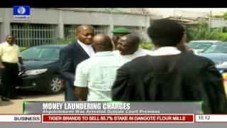 Fmr DG NIMASA Bundled Into Vehicle Outside Court Premises By EFCC Officials