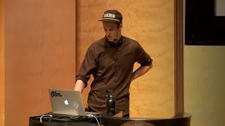 James Edmondson of OH no Type at the San Francisco Public Library