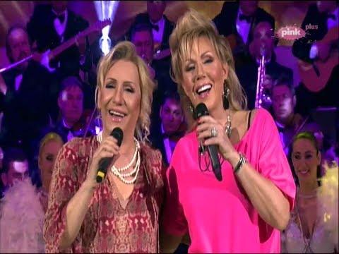 Vesna Zmijanac & Lepa Brena - Mix hitova - Grand Show - (TV Pink 21.03.2014)
