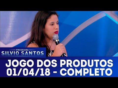 Jogo dos Produtos - Completo | Programa Silvio Santos (01/04/18)