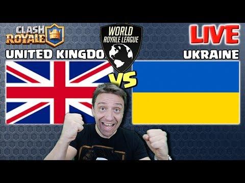 UNITED KINGDOM (UK) Vs UKRAINE   World Royale League S3   Clash Royale ESports