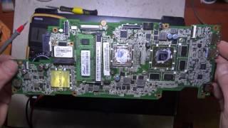 видео Ремонт ноутбука ACER Aspire V5-573G