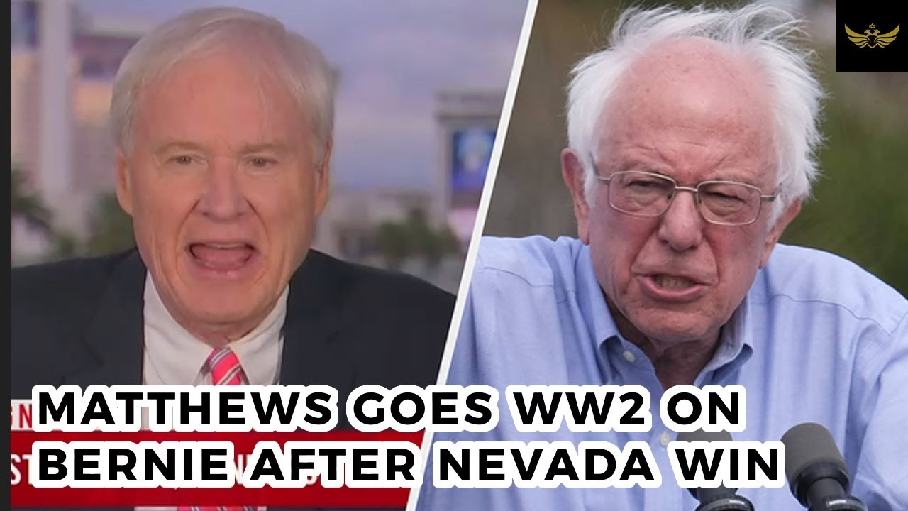 MSNBC's Chris Matthews goes WW2 on Bernie after Nevada win (Video)