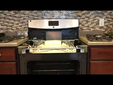 how to fix a gas oven