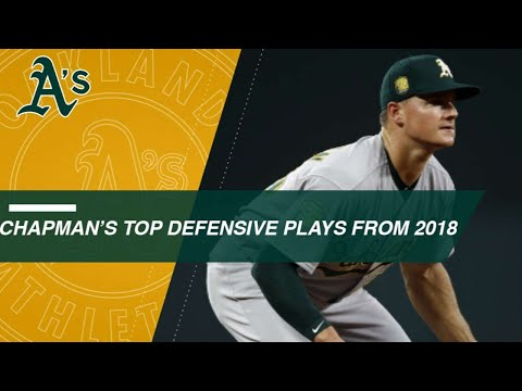 Check out Matt Chapman's top defensive plays in 2018